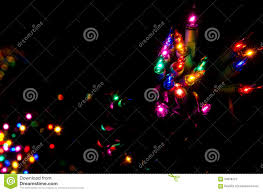 Colored Christmas Lights by Christmas Lights Shining In The Darkness Stock Photo Image 59058727