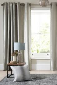 Curtain Fabric Ireland Buy Luxe Metallic Ikat Stripe Eyelet Curtains Online Today At Next