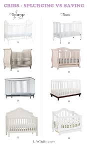 cribs splurge vs save life u0027s tidbits