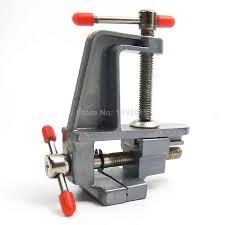 Catok Yang Kecil 1 pcs 3 5 aluminium miniatur hobby jewelers penjepit pada alat meja