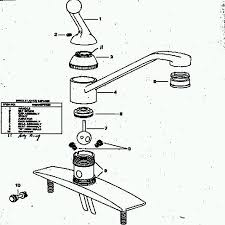 Kitchen Faucet Valve Delta Faucet Repair Diagram Single Handle Faucet Repair Diy