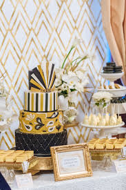 great gatsby dessert table by style my celebration
