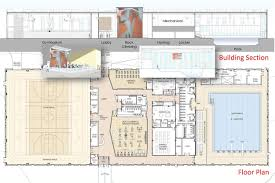 Gym Floor Plans by East End U0027s First Public Fitness Facility With Olympic Size Indoor