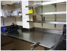 shelf design cool steel kitchen shelf stainless steel kitchen