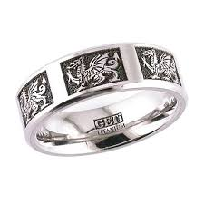 titanium celtic wedding bands celtic wedding rings