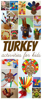 thanksgiving turkey activities for