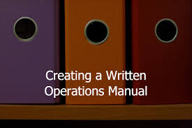 how to create an operations manual for your business 3bug media