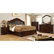 CM EDINBURGH BEDROOM SET FURNITURE OF AMERICA - Edinburgh bedroom furniture