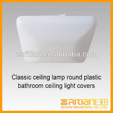 plastic ceiling light covers classic ceiling l square plastic bathroom ceiling light covers
