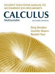 rogawski calculus 2nd edition multivariable solutions series