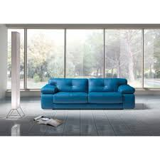 Blue Leather Sofa by Estro Italian Seating Sofa Sets Sectionals And Lounge Chairs