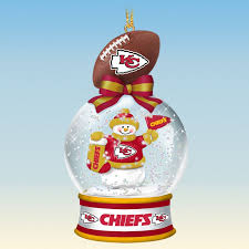 kansas city chiefs snow globe ornaments your 1st one is free