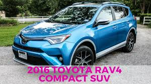 toyota suv review 2016 toyota rav4 se awd suv review