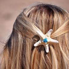 starfish hair clip starfish hair clip sea by