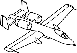 fast airplane coloring page wecoloringpage