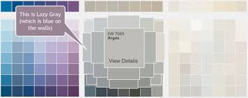 gray walls turn blue interior painting in flower mound tx
