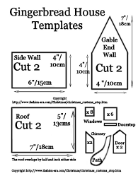pattern for large gingerbread house christmas customs gingerbread house recipe picture free pdf