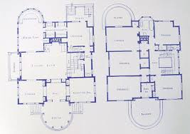 blueprints house george blossom house building blueprints 4858 s kenwood ave