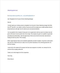 17 resignation email examples u0026 samples
