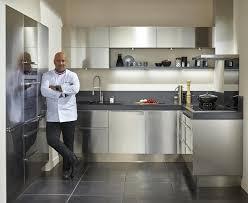 cuisine tout inox meuble de cuisine inox gnrique rideau de lames metalliques pour