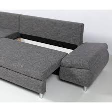 canap d angle en tissu pas cher naho canapé d angle gauche convertible 4 places coffre