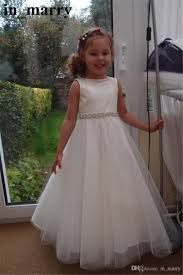 simple communion dresses sparkly crystals beaded white communion dresses 2017 a