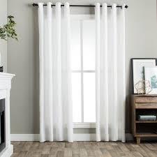 Linen Drapery Panels Best 25 White Linen Curtains Ideas On Pinterest White Curtains
