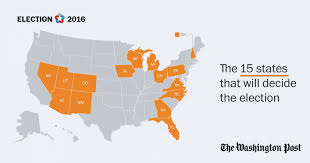Florida Election Map by What To Know About The 15 States That Will Decide The Election