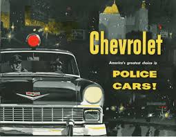 Old Ford Truck Brochures - 1956 chevrolet police car brochure by aldenjewell via flickr