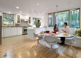 bay window kitchen ideas chair creative chair for kitchen ideas stunning white fiberglass