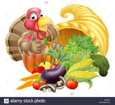 thanksgiving golden horn of plenty cornucopia of vegetables and