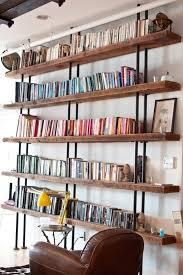 Rustic Wood Bookshelves by Inspiration Dailymilk Part 5