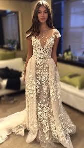 1116 Best Vintage Wedding Dresses Images On Pinterest Vintage We Just Love The Overlay Skirt On This Bertabridal Wedding Dress