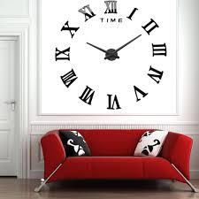 encouraging 4 colors sliver multi color cutlery kitchen wall clock astounding d diy wall clock watch living room metal acrylic mirror home decor quartz wallclock roman