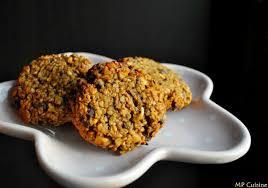 cuisine bresil cookies avoine noix du brésil pépites de chocolat jus de pommes
