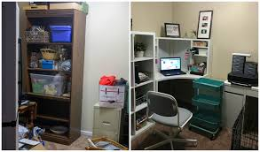 my new ikea office before and after daily dish recipes