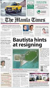 Red Flag Newspaper Today U0027s Front Page August 11 2017 The Manila Times Online