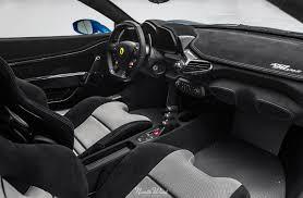 Ferrari 458 Interior - azzurro dino ferrari 458 speciale gets xpel ceramic pro