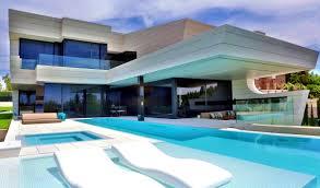 futuristic home interior furniture entrancing futuristic home madrid spain homes for