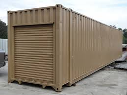 storage containers with roll up doors easy to use atlanta used