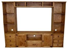 rustic small flat screen wall unit southwestern screens and