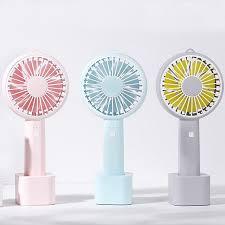 battery operated handheld fan chern mini handheld fan m6 fans usb 1200mah battery operated