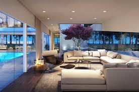 modern livingrooms modern living room with high ceiling carpet digs on living room tv