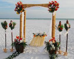 wedding arches bamboo clearwater affordable weddings clearwater weddings
