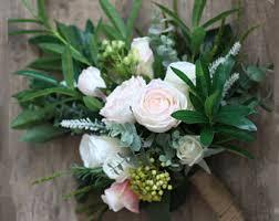 wedding flowers rustic rustic bouquet etsy