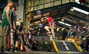 lexus barcelona skatepark daring feats at skateboard showdown iol news