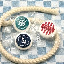 wedding favors unlimited nautical design savers mint favors