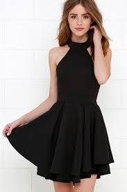 black skater dress lulu s dress rehearsal black skater dress where to buy how to wear