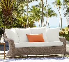 Pottery Barn Wicker Pottery Barn Outdoor Furniture Sale Save 30 On Chaise Lounges