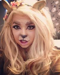 Kids Makeup For Halloween by 23 Lion Makeup Designs Trends Ideas Design Trends Premium